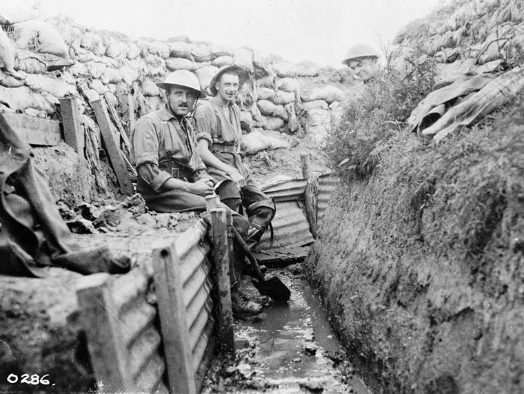Trench warfare weapons of world war one